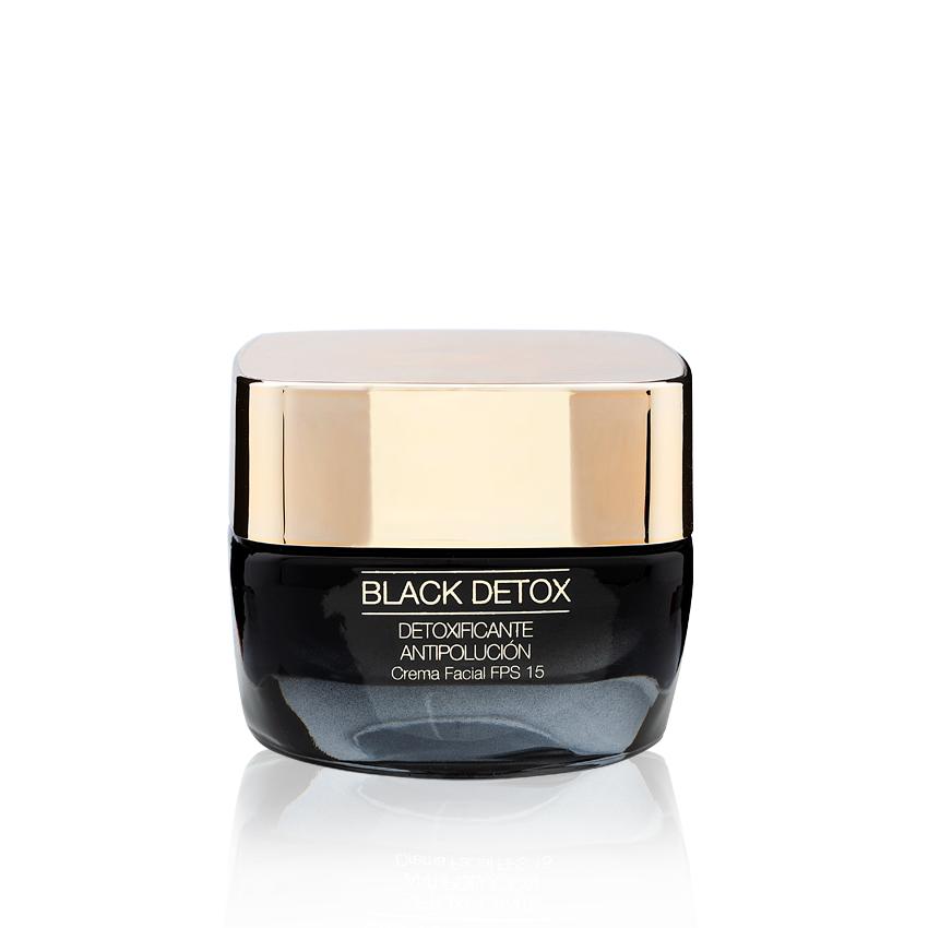 Crema facial Black Detox